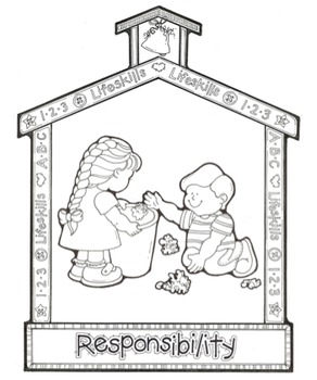 Responsibility Song - MP3, Lyrics, & Coloring Page