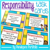 Responsibility Lesson:  Responsibility Task Cards / Questions