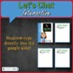 Social Emotional Learning Responsibility Today I Choose Health Conversation Card