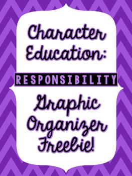 Responsibilties Graphic Organizer - FREEBIE