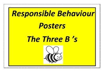 Responsible Behaviour - The Three B's - SWBP