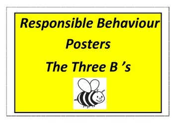 Responsible Behaviour - The Three B's - SWBP