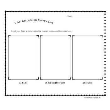 Responsible Decision-Making Part 5:  Write the Room Plus Worksheets/Activities
