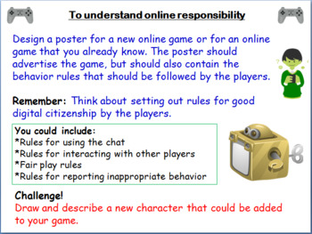 Responsible Gaming & Digital Citizenship Assembly/Lesson (Grades 3-5 E-Safety)
