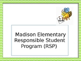 Responsible Student Program Editable Power Point Slides