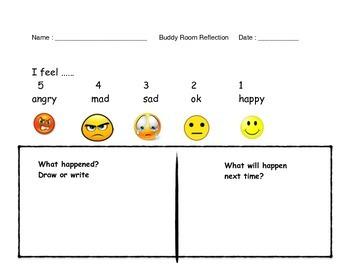 Responsive Classroom Buddy Room Reflection