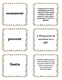 Responsive Classroom Christmas Definitions (Mix and Mingle)