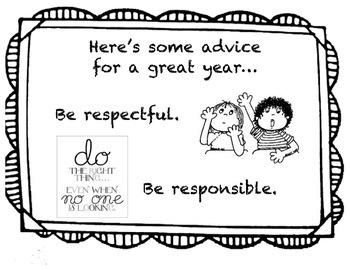 Responsive Classroom Community Rules