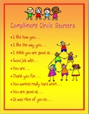 Compliment Circle Starters