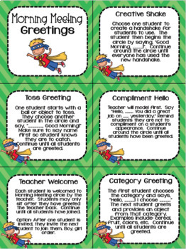 Classroom greetings and activities for morning meeting responsive classroom greetings and activities for morning meeting m4hsunfo Choice Image