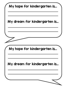 Responsive Classroom Hope & Dreams Activity & Bulletin Board