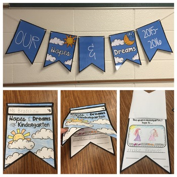 Hopes and Dreams Pennant Banner