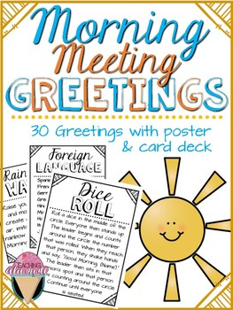 Responsive Classroom Morning Meeting Greetings