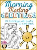 Responsive Classroom Morning Meeting Greetings