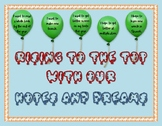 Responsive Classroom: Rising to the Top with Our Hopes and Dreams Bulletin Board