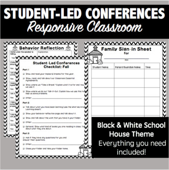 Responsive Classroom Student-Led Conferences