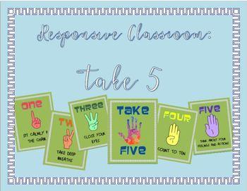 Responsive Classroom: Take 5-- Taking Calming Breaks