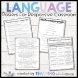 Responsive Classroom Teacher Language