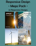 Responsive Design Mega Pack - 22! - .DOC - Design Thinking