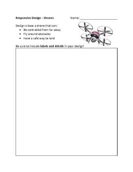 Responsive Design 4 Pack .PDF - Design Thinking - IB MYP Design Rubric PLTW STEM