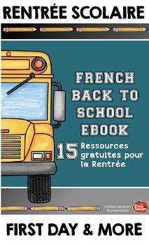 La rentrée: astuces et ressources gratuites {Back to Schoo