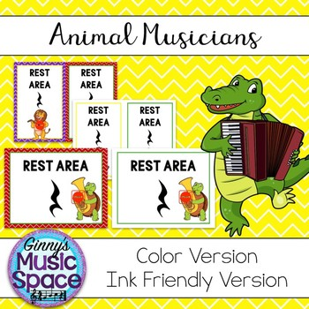Rest Area Animal Musicians Theme