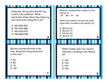 Test Prep Rounding Task Cards
