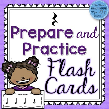Rest Prepare and Practice Flash Cards