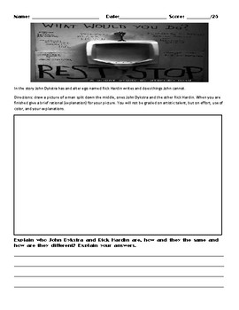 Rest Stop by Stephen King Assignment