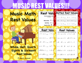Rest Values (Music Math)