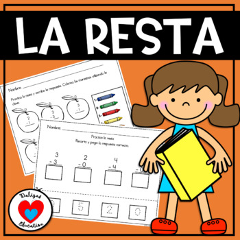 Resta | Subtraction in spanish