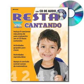 Spanish Math (Subtraction) - Digital MP3 Album Download w/ Lyrics and Activities
