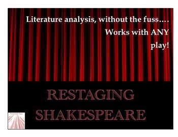 Shakespeare Scene Activity
