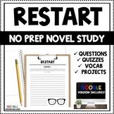 Restart - Comprehension Questions - Written by Gordon Korman