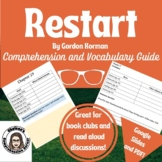 Restart Comprehension Questions and Vocabulary Guide