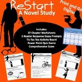 Restart Novel Study Bundle Digital or Print and Go!