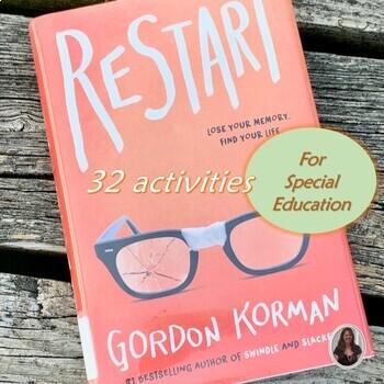 Restart Novel Study for Special Education