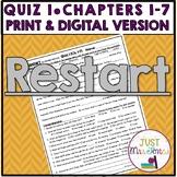 Restart Quiz 1 (Ch. 1-7)