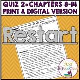Restart Quiz 2 (Ch. 8-14)