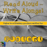 Restart Read Aloud Write Along Book Study
