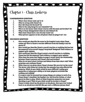 Restart by Gordon Korman Comprehension and Discussion Questions