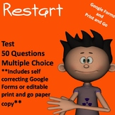 Restart by Gordon Korman Comprehensive Test