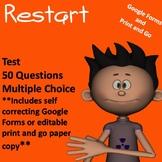 Restart Test (Comprehensive Print and Go or Self Grading G