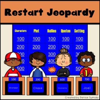 Restart by Gordon Korman Jeopardy