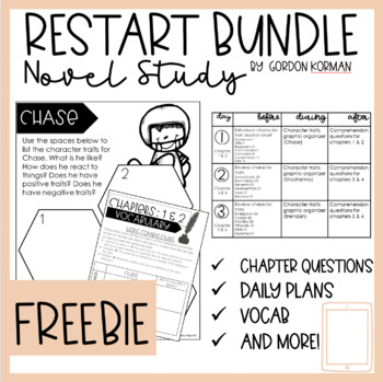 Restart by Gordon Korman Novel Study