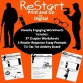 Restart by Gordon Korman Visually Engaging Worksheets, Act