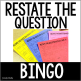 Restate the Question Bingo