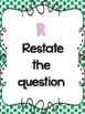 RADD Restate the Question Answering Comprehension Questions