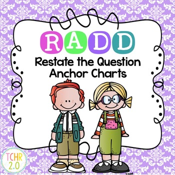 RADD Restate the Question Answering Comprehension Questions Damask Theme