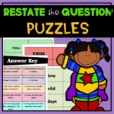 Restate the Question PUZZLES